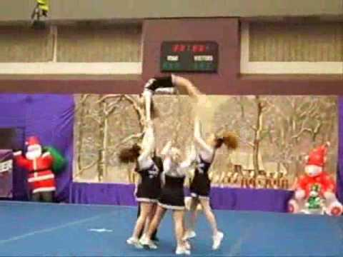 Multiple Cheer Stunts