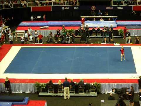 Aly Raisman 2012 Olympic Trials Amazing Floor Routine