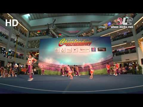 Awesome Bangkok University of Cheerleading Team