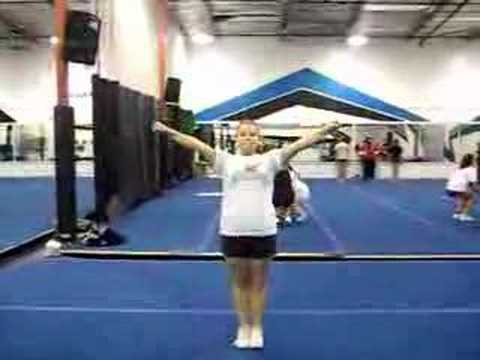 Can This Cheerleader do a Toe Touch?
