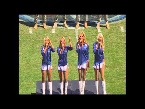 Titans Cheerleaders Patriotic Medley for 9/11