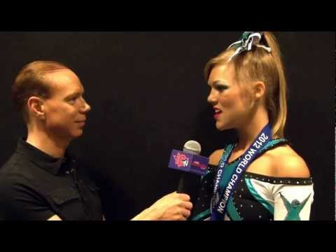 Maddie Gardner Worlds 2012 Interview