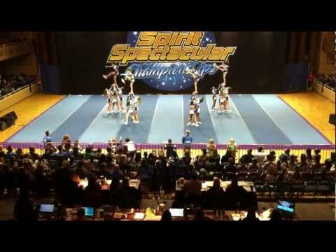 University Cheer Force 1st Senior Level 5 Team
