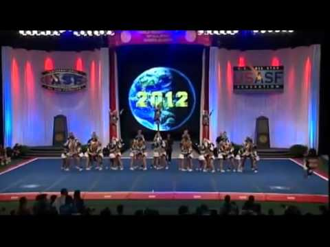 Worlds 2012 Cheer Extreme Senior Elite