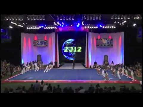 Worlds 2012 Cheer Athletics Cheetahs