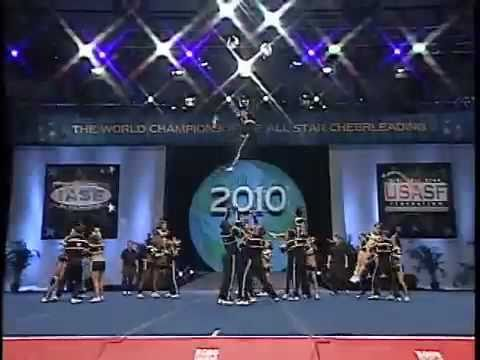 Worlds 2010 Top Gun Coed CheerleadingTeam