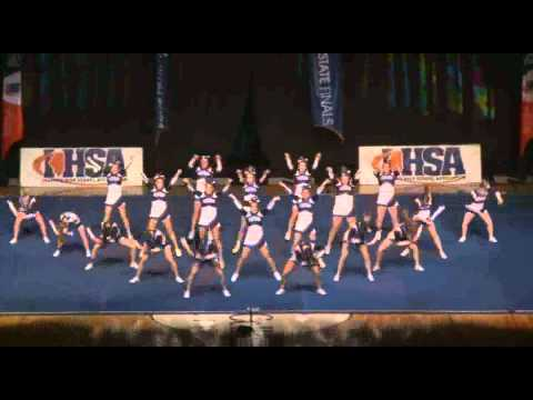 Illinois State Cheerleading Champs 2011