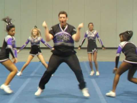 Male Cheerleader Dance